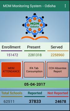 MDM-Odisha Monitoring App screenshot 1
