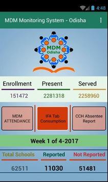 MDM-Odisha Monitoring App screenshot 2