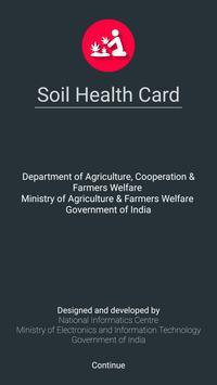 Soil Health Card poster