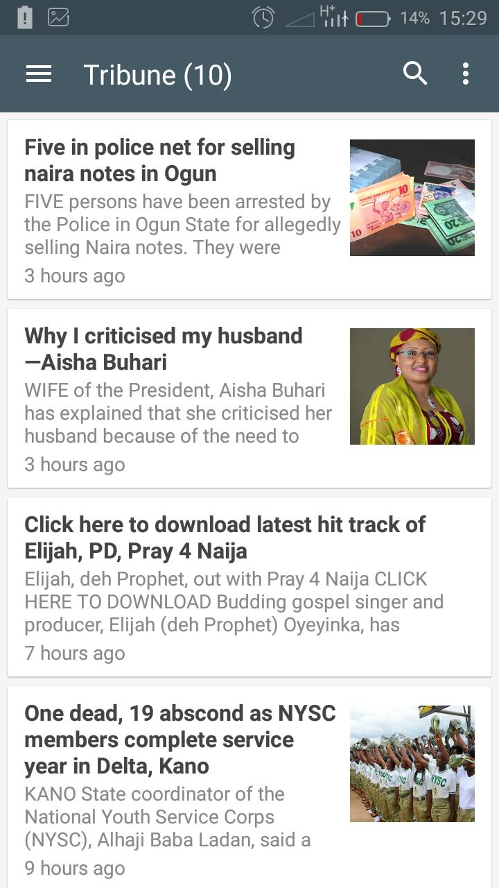 Nigeria Newspapers for Android - APK Download