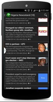 Nigeria Newsstand screenshot 2