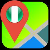 Nigeria Map icon