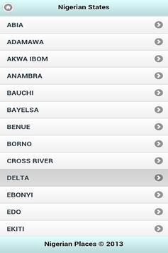 Nigerian Places apk screenshot