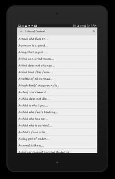 Nigerian Proverbs screenshot 10