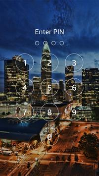 Night City Light Lock Screen apk screenshot
