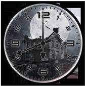 Night Analog Clock Live Wallpaper icon