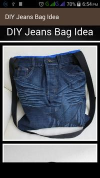 DIY Jeans Bag Idea poster