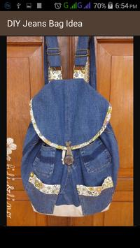 DIY Jeans Bag Idea screenshot 10