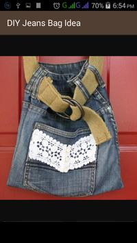 DIY Jeans Bag Idea screenshot 11