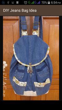 DIY Jeans Bag Idea apk screenshot