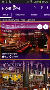 Night Owl Nightlife Guide poster