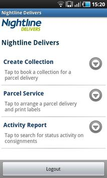 Nightline Delivers apk screenshot