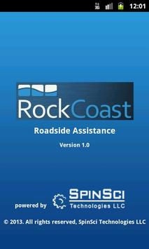 RockCoast Roadside Assistance poster