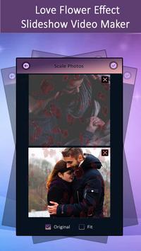 Love Flower Effect SlideShow Video Maker screenshot 3