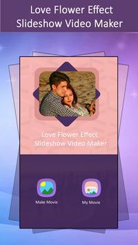 Love Flower Effect SlideShow Video Maker screenshot 5