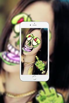 Monster Face Editor apk screenshot