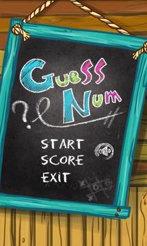 Guessnum poster