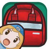 Move the Baggage icon