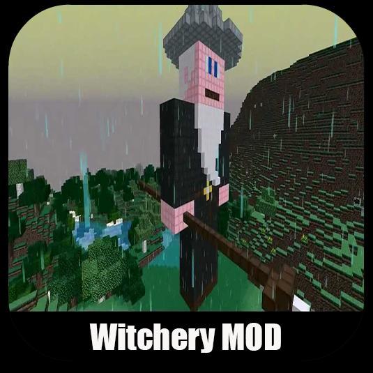 witchery mod for minecraft pe