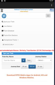 Indian railways live status 2018-2019 [ENG ,हिंदी] screenshot 1