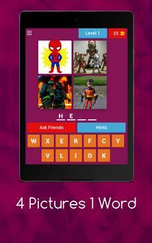 4 Pics 1 Word - Puzzle Game screenshot 12