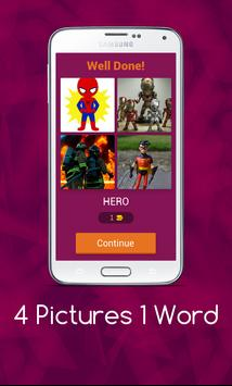 4 Pics 1 Word - Puzzle Game screenshot 1
