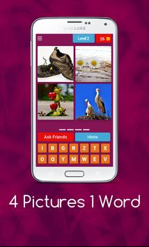 4 Pics 1 Word - Puzzle Game screenshot 2