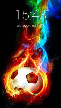 Football Lock Screen Wallpaper poster