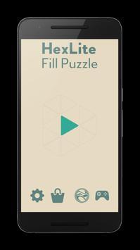 Hexlite Fill Puzzle (Unreleased) screenshot 1