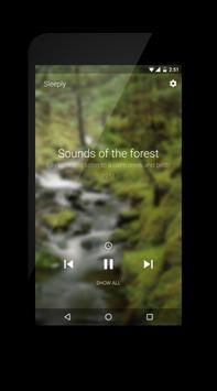Sleeply - Sleep with music screenshot 1