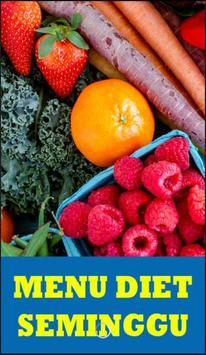 7 Menu Diet Seminggu poster
