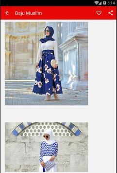 Baju Muslim Wanita poster