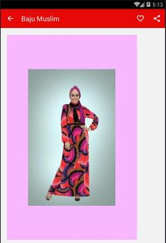 Baju Muslim Wanita screenshot 1