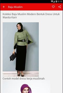 Baju Muslim Wanita screenshot 3