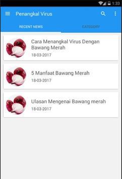 Penangkal Virus Alami apk screenshot