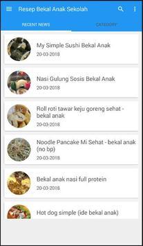 Resep Bekal Anak Sekolah apk screenshot