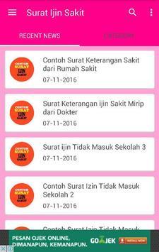 Contoh Surat Ijin Sakit For Android Apk Download