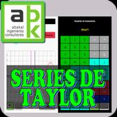 Cálculo de series de Taylor icon