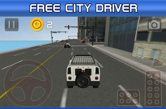 City Car Driving poster