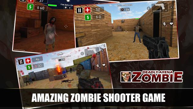 Zombie Shooting Killing Game poster