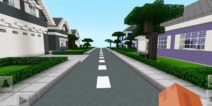 New Town Lego School. Map for MCPE screenshot 3
