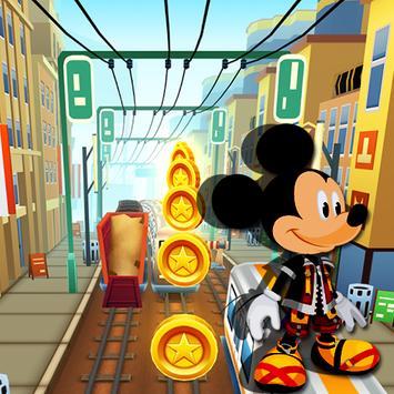 Mickey Rail Runner poster