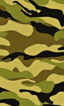 Camouflage Wallpaper poster