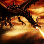 Dragon Pictures Angry Fire HD Wallpaper icon