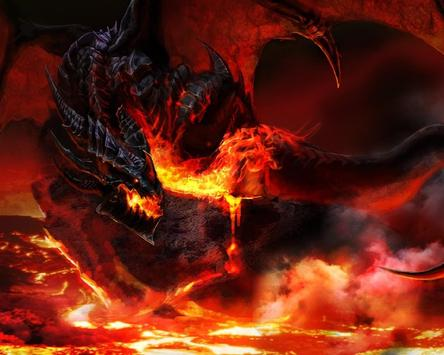 Dragon Pictures Angry Fire HD Wallpaper apk screenshot