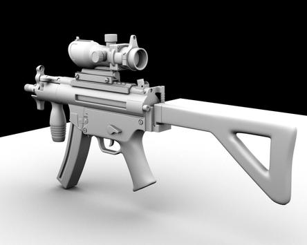 Wallpapers Heckler And Koch HK MP5 screenshot 3