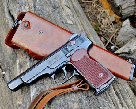 Wallpapers Stechkin automatic pistol APS screenshot 3