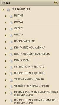 Библия в синодальном переводе apk screenshot