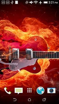 Guitar Live Wallpaper screenshot 4
