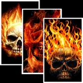 Skull HD Wallpaper icon
